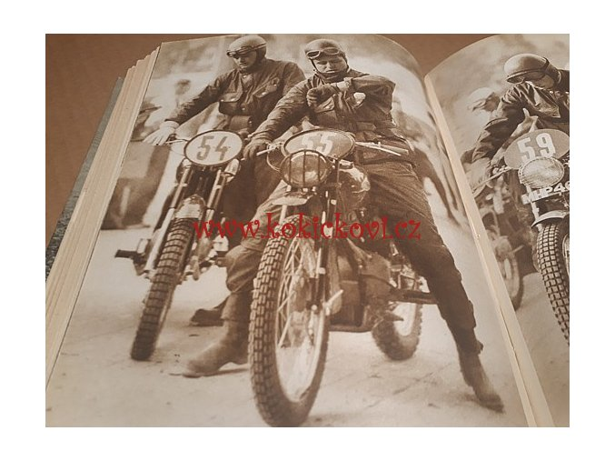 Terénní jízda - šestidenní motocykl JAWA ČZ