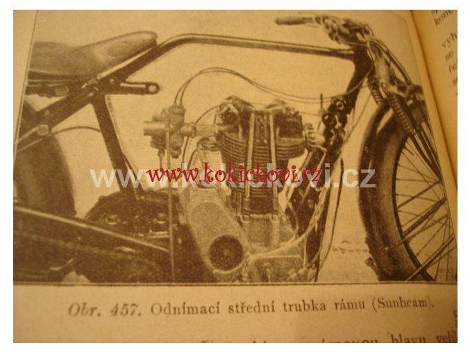 MOTOCYKL 1926 - PROF. ING. EMIL ČERMÁK
