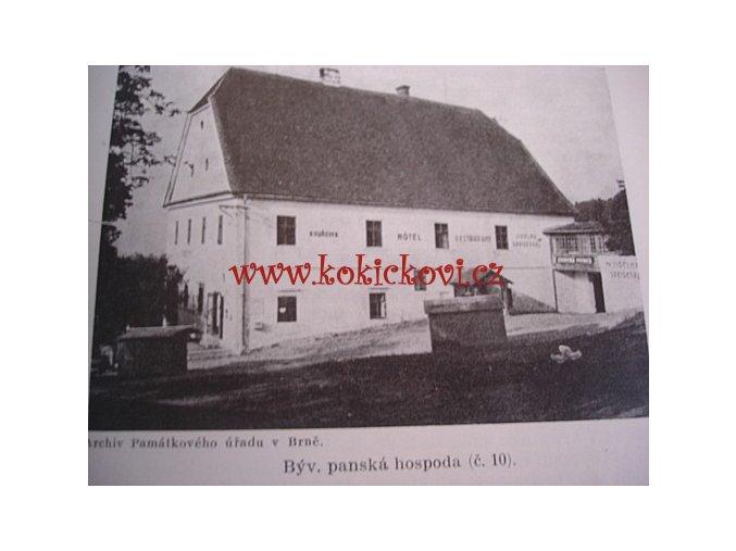 VRANOV U BRNA HISTORIE A PAMÁTKY JUDR. BERÁNEK 1940 - POZOŘICE