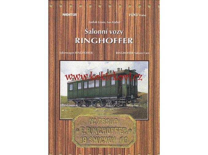 Salonní vozy Ringhofer  - MONOGRAFIE ČESKY ANGLICKY NĚMECKY