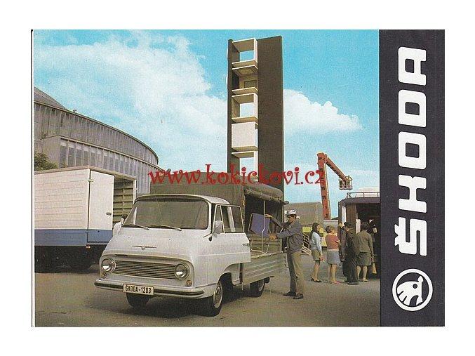 ŠKODA 1203 ROL - PROSPEKT - AZNP Mladá Boleslav, závod Vrchlabí