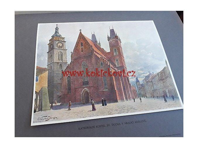 Památky starého umění v Čechách dle akvarelů Václava Jansy J. Otto 1913