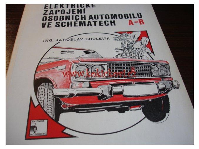 Elektrické zapojení osobních automobilů ve schématech - 1979 -- DÍL A-R
