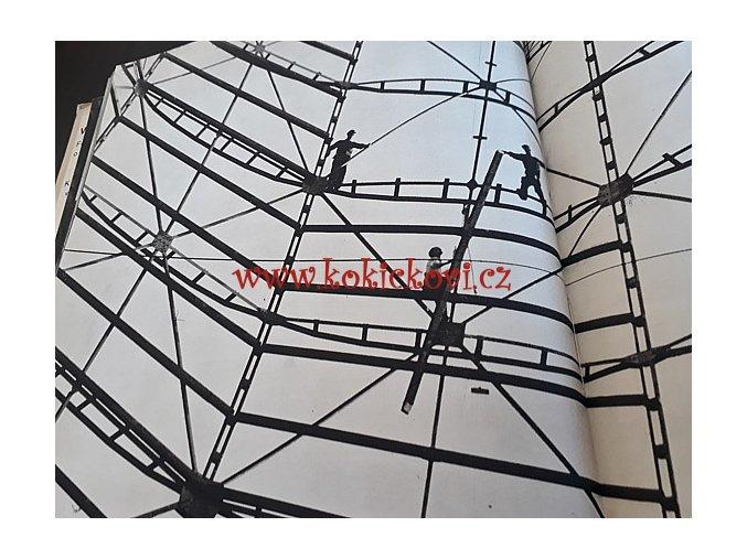 Veliké dílo - Kolektiv autorů - Fotografická reportáž o první československé stavbě socialismu Nové huti Klementa Gottwalda v Ostravě - 1952 - ORBIS
