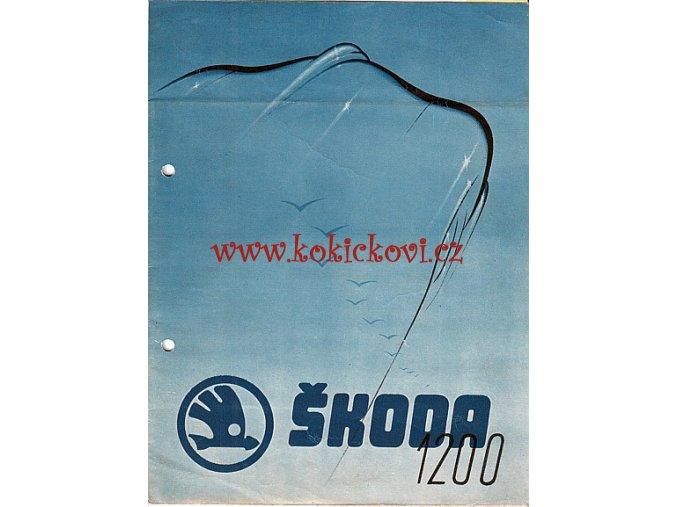Škoda 1200 - Motokov - prospekt - MOTOTECHNA