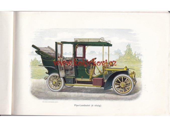 PIPE CAR MANUFACTURER CATALOGUE- Compagnie Belge de Construction Automobiles - KATALOG PIPE WAGEN 1907 - DER PIPE WAGEN