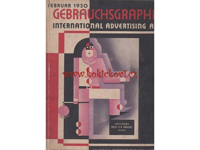 Gebrauchsgraphik International Advertising Art Februar 1930 - REYNALDO LUZA - STUDIE