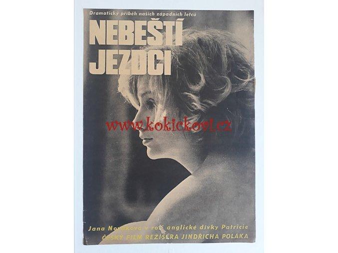 FILMOVÝ PLAKÁT A3 - NEBEŠTÍ JEZDCI