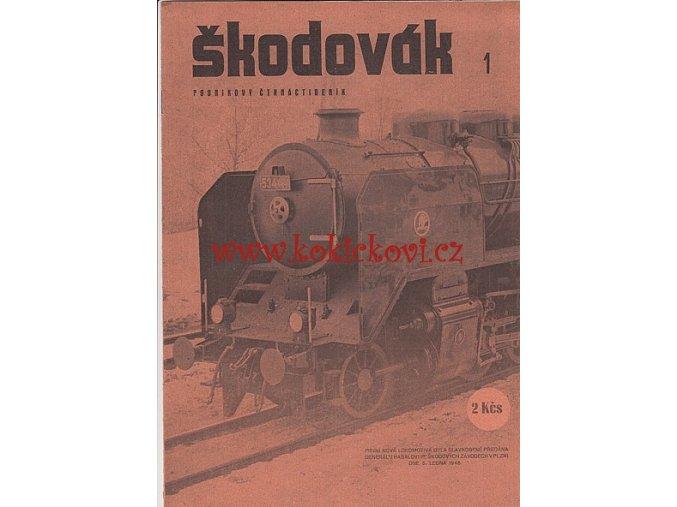 Časopis Škodovák - raritní podnikový měsíčník 1946 - čísla 1-19 - ŠKODA PLZEŇ