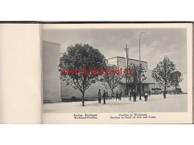 JUBILEJNÍ VÝSTAVA ČESKOSLOVENSKÉ KULTURY BRNO 1928 - HLUBOTKS V. NEUBERT A SYNOVÉ
