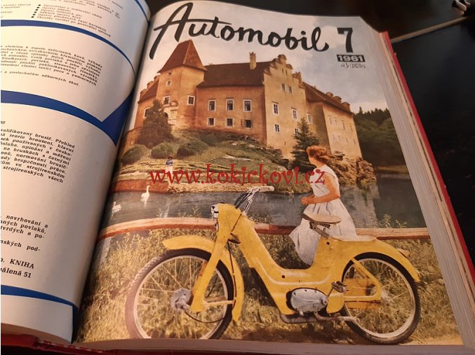 AUTOMOBIL 1961 ROČNÍK 5 JAWA TATRA ČZ 175 250 ŠKODA (VČETNĚ TYPOVÝCH LISTŮ !!!)