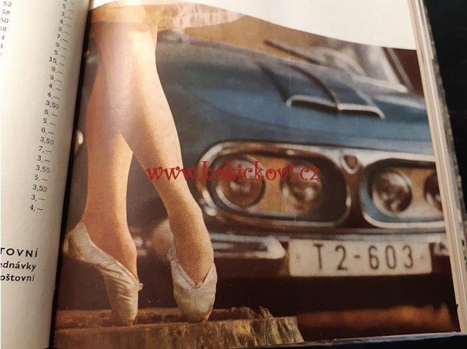 AUTOMOBIL 1963 ROČNÍK 7 JAWA TATRA ZETOR (VČETNĚ TYPOVÝCH LISTŮ)