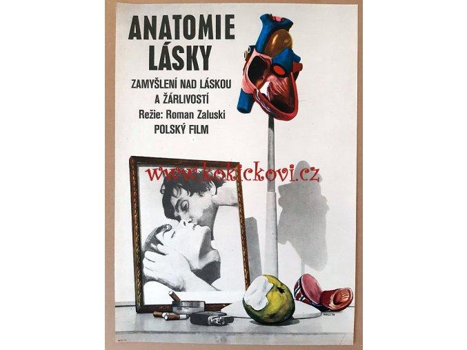 FILMOVÝ PLAKÁT A3 - ANATOMIE LÁSKY
