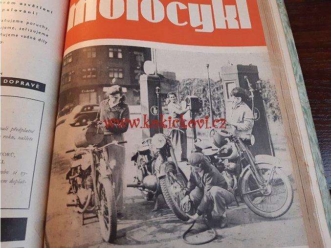 ČASOPIS MOTOCYKL 1951 3. ROČNÍK  TOP STAV - JAWA