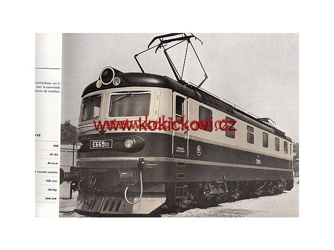 ŠKODA PLZEŇ 50 LET VÝROBY KATALOG ELEKTRICKÝCH LOKOMOTIV  ŠKODA PLZEŇ 1927 - 1977