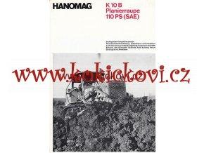 TRAKTOR HANOMAG K 10 B PLANIERRAUPE 110 PS SAE