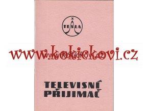 TELEVISNÍ PŘIJÍMAČ TESLA 4202 A - POPIS NÁVOD OPRAVY 1957