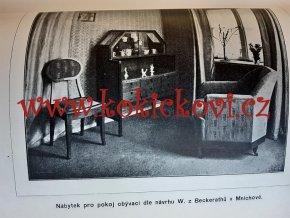 Vzory truhlářských prací - Klement Skramlík c. 1910