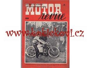 MOTOR REVUE 1943 ROČ 22 ČÍSLO 450
