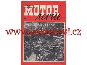 MOTOR REVUE 1943 ROČ 22 ČÍSLO 452 LETECKÝ MOTOR BMW 801