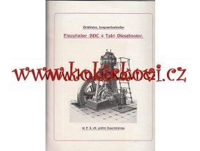 ORIGINÁL KATALOG BREITFELD DANĚK DIESEL MOTOREN C .191?