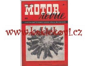 MOTOR REVUE - 1941 - ROČNÍK XX., ČÍSLO 421