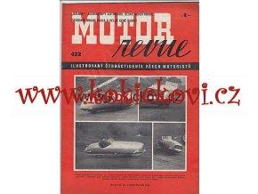 MOTOR REVUE - 1941 - ROČNÍK XX., ČÍSLO 422