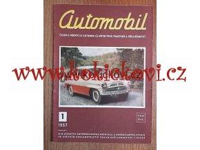 ČASOPIS AUTOMOBIL 1. ČÍSLO ROK 1957