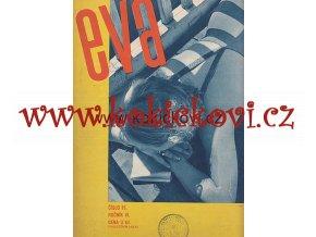 ČASOPIS EVA ČÍSLO 1934 FOTO SUDEK FRANTIŠEK ZELENKA