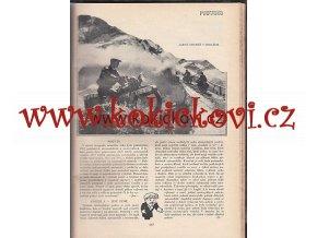 ČASOPIS MOTOR 1932 - 10 ČÍSEL SVÁZÁNO JAWA ARIEL