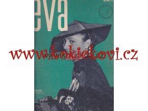 ČASOPIS EVA 6. ROČ 14/1934 UVNITŘ FOTO ZETKA