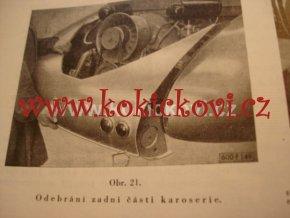 TATRAPLAN TYP T-600 DÍLENSKÁ PŘÍRUČKA SBĚRATELSKÁ PERLA ROK 1950