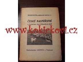 ČESKÉ PASTÝŘSTVÍ PLEMENA PASTÝŘSKÝCH PSŮ 1943