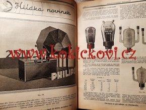 RADIOSVĚT 1930 ROČ. 4 - POŠKOZENÝ HŘBET, PHILIPS 2511