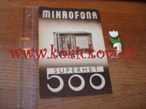 MIKROFONA 500 RADIO PROSPEKT