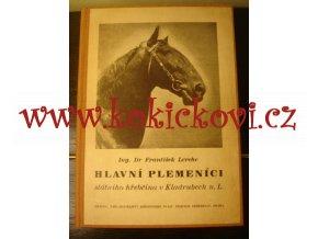 Hlavní plemeníci - hřebčín Kladruby n.L. František LERCHE 1951