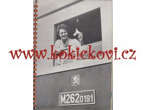 KATALOG VAGÓNŮ - ČS. VAGÓNKY TATRA STUDÉNKA 1960 REKL. PUBLIKACE