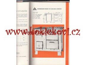 Katalog výrobků NP Moravia Plynové uhelné spotřebiče kamna