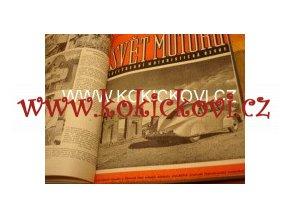 6. ROČNÍK SVĚT MOTORŮ 1952 100% stav MOTOROBOT PF 6