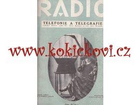 RADIOTELEFONIE A TELEGRAFIE RADIOLA CCA 1926