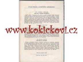 CHOV PSTRUHŮ 1957 NÁKLAD 3000KS