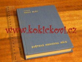KNIHA SLOV RUDYARD KIPLING