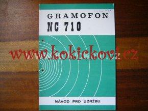 GRAMOFON NC 710