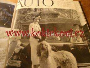 Časopis Auto Autoklub Švýcarsko 1951 Ferrari Mercedes