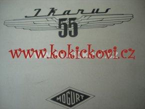 AUTOBUS IKARUS 55 MOGURT KATALOG NÁHR.DÍLŮ