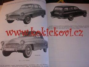 Škoda 1956 - 1966 - Škoda 440, 450, 455, Octavia, Felicia - dílenská příručka - 1970