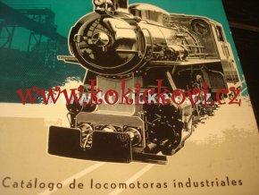 Katalog průmyslových parních lokomotiv ŠKODA a ČKD STROJEXPORT