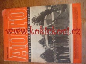 AUTO - ČASOPIS ČS. MOTORISTŮ ČÍSLO B9 ZÁŘÍ 1946