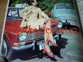 AUTOMOBIL ROČNÍK č.15, 1971 ŠKODA SAAB JAWA