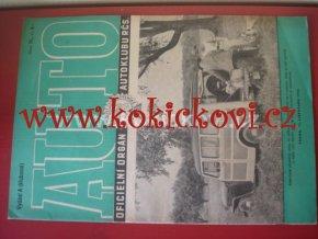 AUTO - ČASOPIS ČS. MOTORISTŮ ČÍSLO A11 LISTOPAD 1946